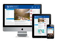 SJSU Parent and Family Protal interface example